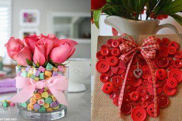 Ideas simples y simples de decoración para el día San Valentín