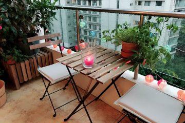 De qué manera decorar una terraza low-cost