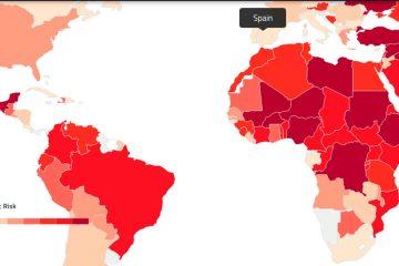 Estos son los países con mayor peligro de conflicto bélico