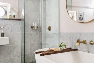 Sugerencias de decoración de baños pequeños, muy elegantes y modernos