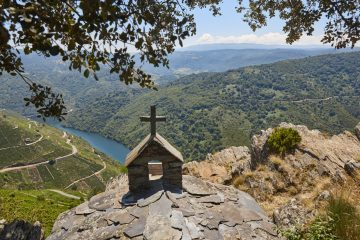 Mirador de Pena do Castelo, de los más espectaculares de España